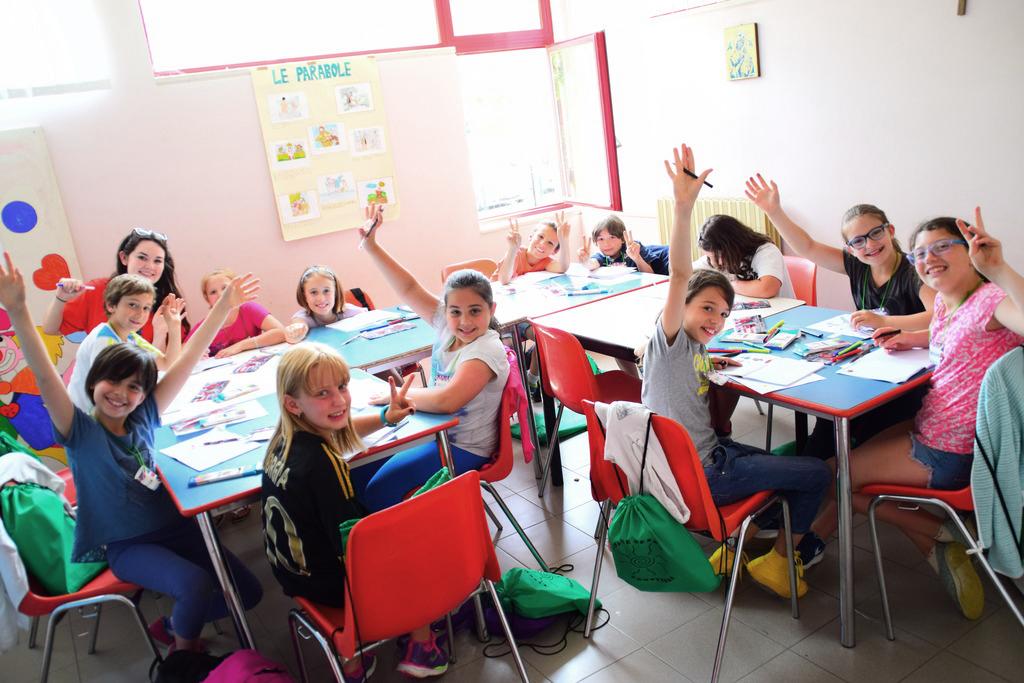 Campi estivi per imparare la lingua inglese, diversificati per studenti di elementari e medie,scuole, Campi estivi, Teatro didattico